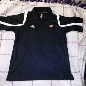 Adidas Notre Dame Collared Shirt